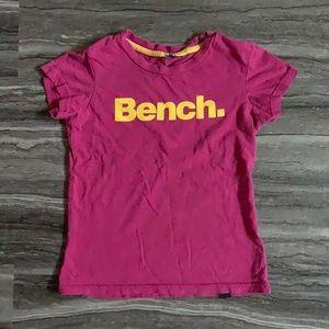 Pink Bench Kids T-Shirt